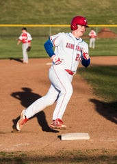 Zane Trace senior Chad Ison brings a bulldog mentality to the Pioneers baseball program.