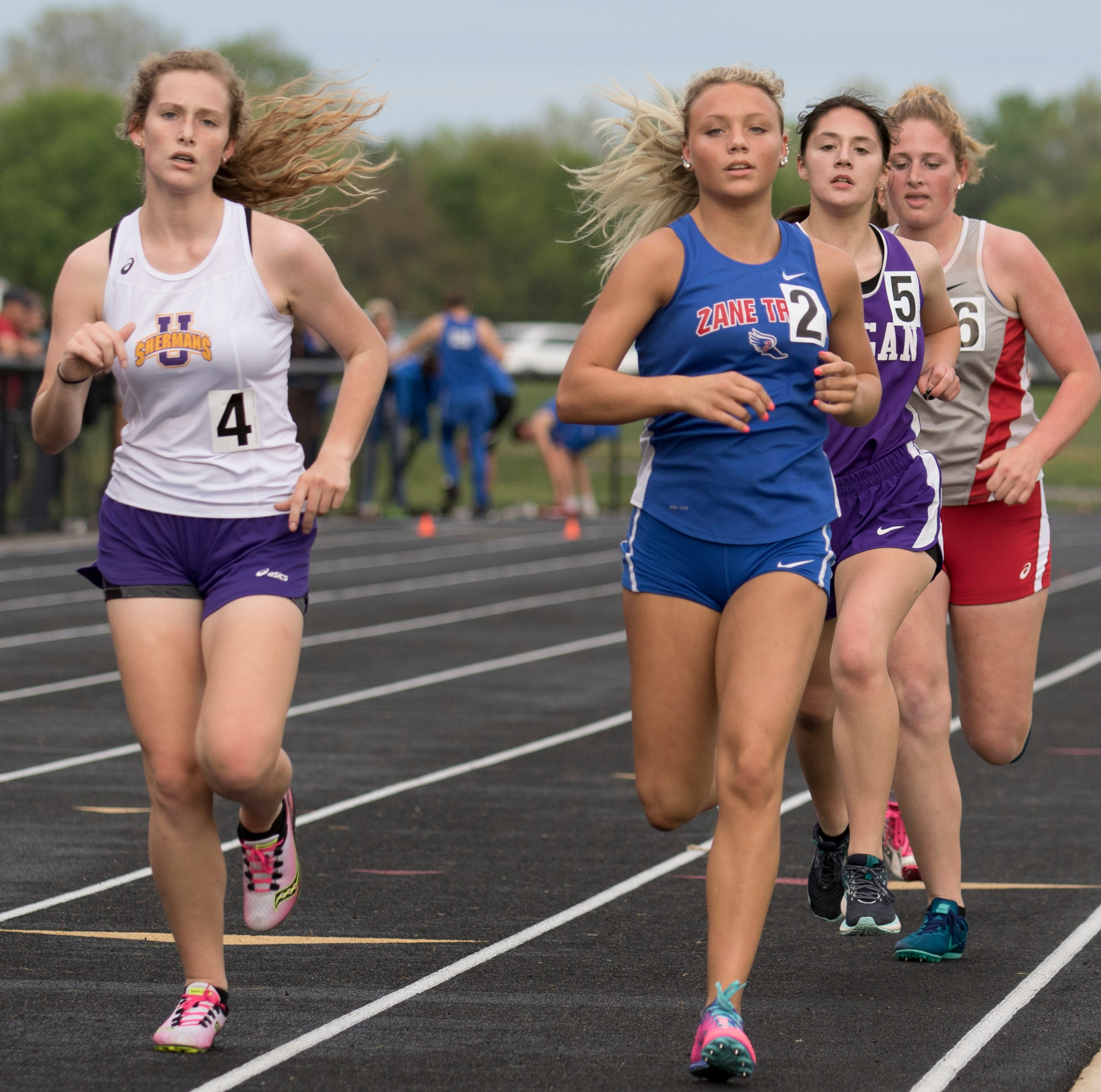Friday sports scores: Unioto, Zane Trace track and field compete at Circleville
