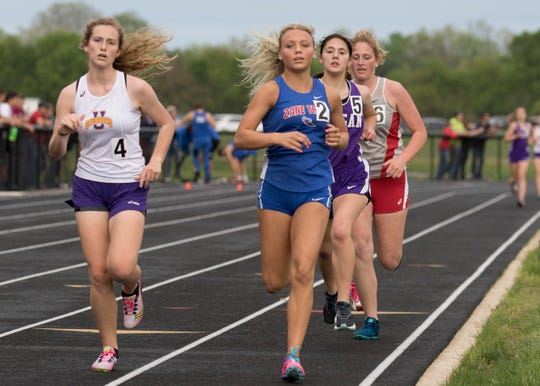 Unioto and Zane Trace competed in the Circleville Invitational on May 4, 2019, in Circleville, Ohio.