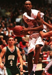 DerMarr Johnson in his playing days at UC.