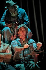 """""""The Grapes of Wrath"""" follows the plight of the Joad family on a journey from Oklahoma to California. The 2007 opera from composer Ricky Ian Gordon and librettist Michael Korie opens Saturday at the Opera House."""