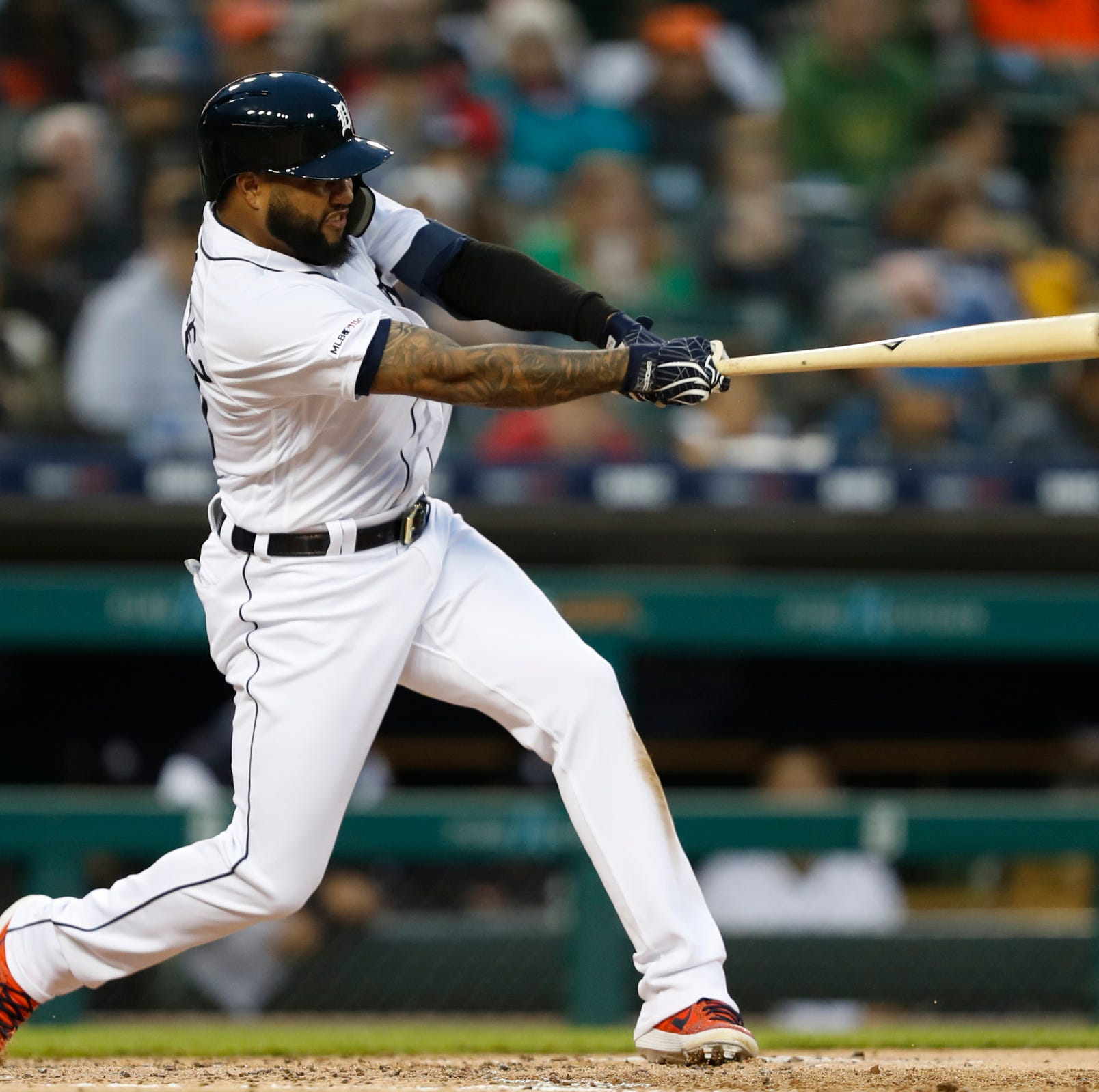 Detroit Tigers lineup vs. Kansas City Royals: DH Dixon, CF Castro