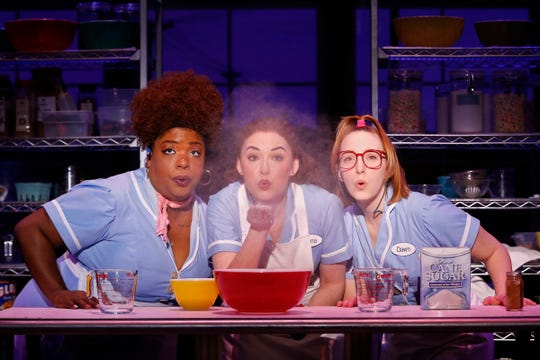"""Waitress,"" which opened on Broadway in 2016, is based on the 2007 movie of the same name."