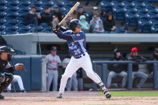 West Michigan Whitecaps hitting coach John Vander Wal says outfielder Ulrich Bojarski has one of the most powerful swings he's seen.