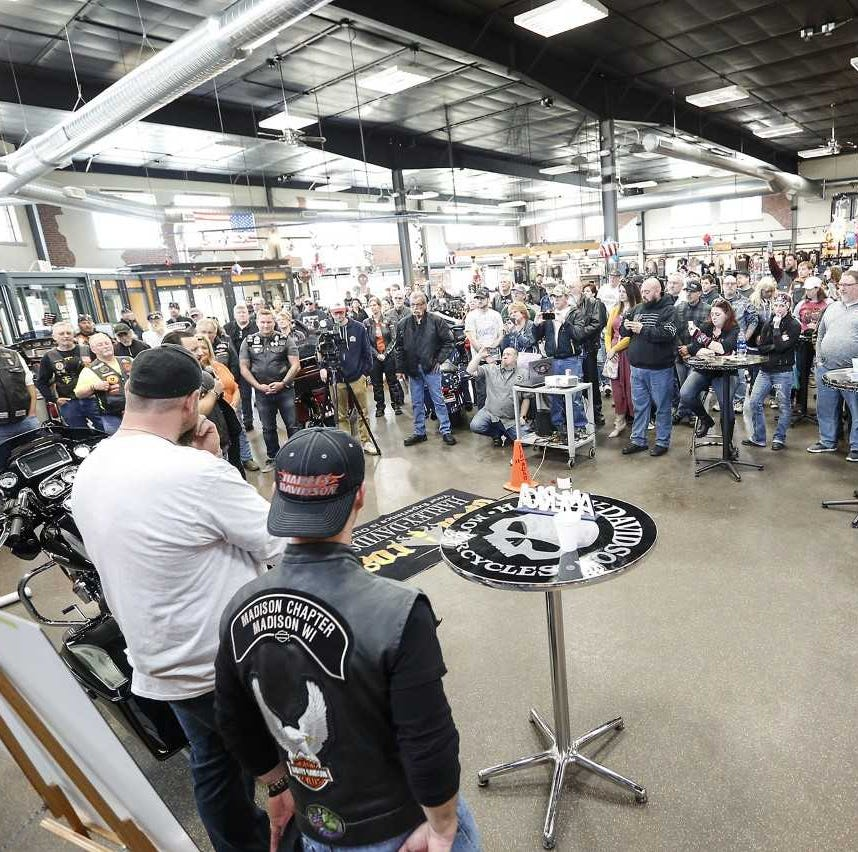 One bike at a time, one hero at a time: Fond du Lac war veteran gifted Harley-Davidson