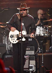 Hank Williams Jr. performs in 2017 at Nashville's Bridgestone Arena. The News-Press wasn't able to get timely approval from Williams' management to shoot photos of Friday's Hertz Arena concert.
