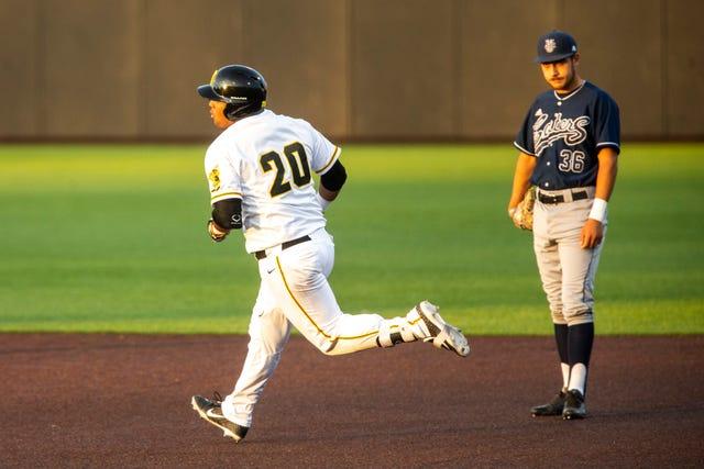 low priced 42696 4ea89 Photos: Iowa Hawkeyes baseball vs. University of California ...