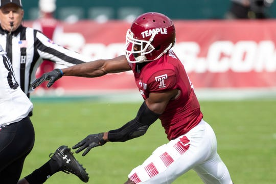 Temple's Rock Ya Sin has the second pick of the second round by the Colts in this year's draft.