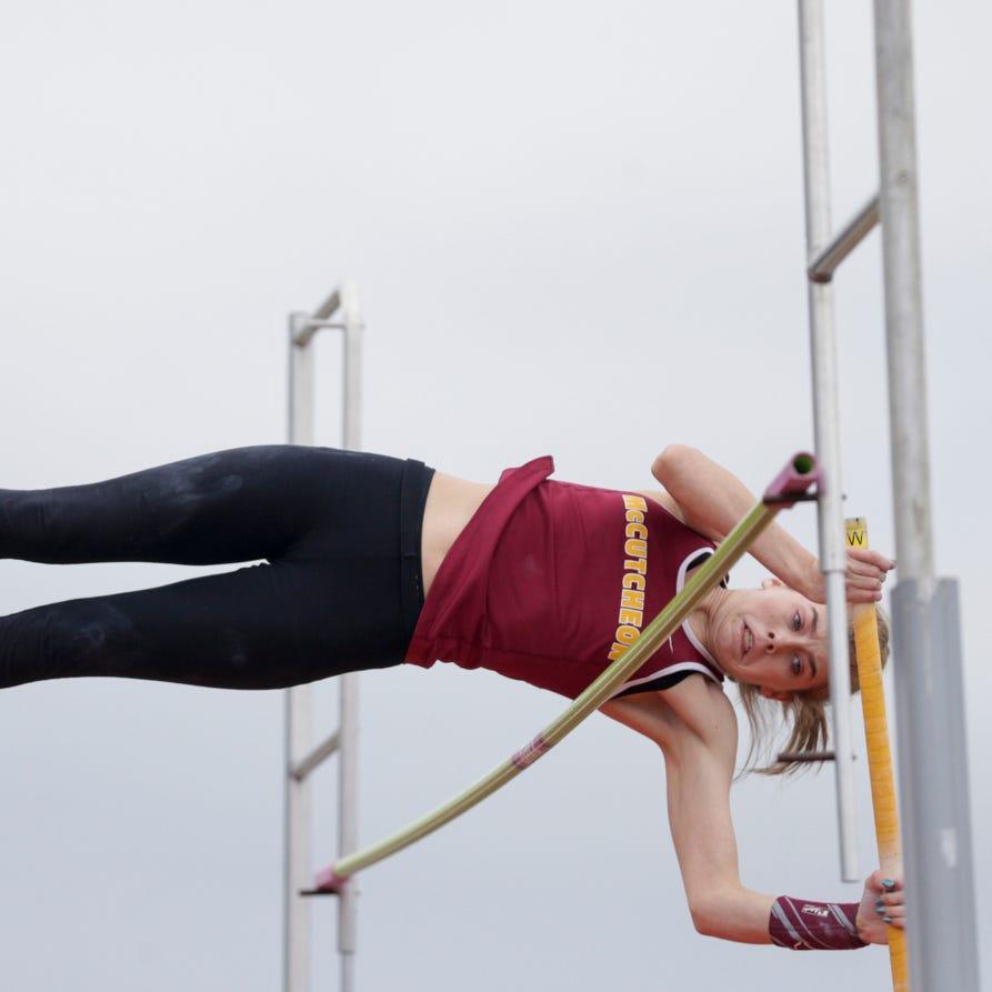 McCutcheon pole vaulter Sabrina Robison soaring to new heights