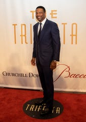 Actor and comedian Chris Tucker on the red carpet at Trifecta Gala 2019, a Kentucky Derby eve party in Louisville. May 3, 2019.