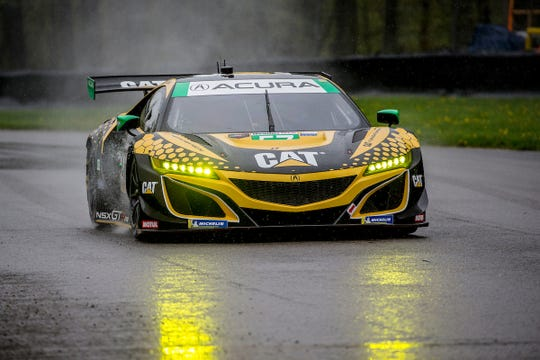 Christina Nielsen and Katherine Legge make up an all-female race team under Heinricher Racing with Meyer-Shank Racing Acura, a team based in Pataskala, Ohio, at this weekend's Acura Sports Car Challenge at Mid-Ohio.