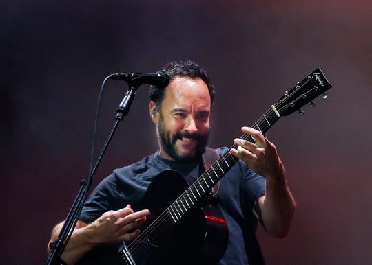 Dave Matthews Band performs on the Terminix stage at Beale Street Music Festival Friday, May 2, 2019.