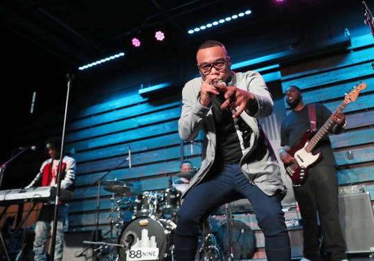 Vincent Van Great performs at the Milwaukee Journal Sentinel's Wisconsin Bands to Watch 2019 concert Friday, May 3, at the Radio Milwaukee Studios.