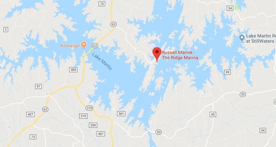 David George Goodling was killed in a three-boat accident near the Ridge Marina on Lake Martin