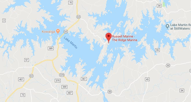 David George Goodling was killed in a three-boat accident near the Ridge Marina on Lake Martin