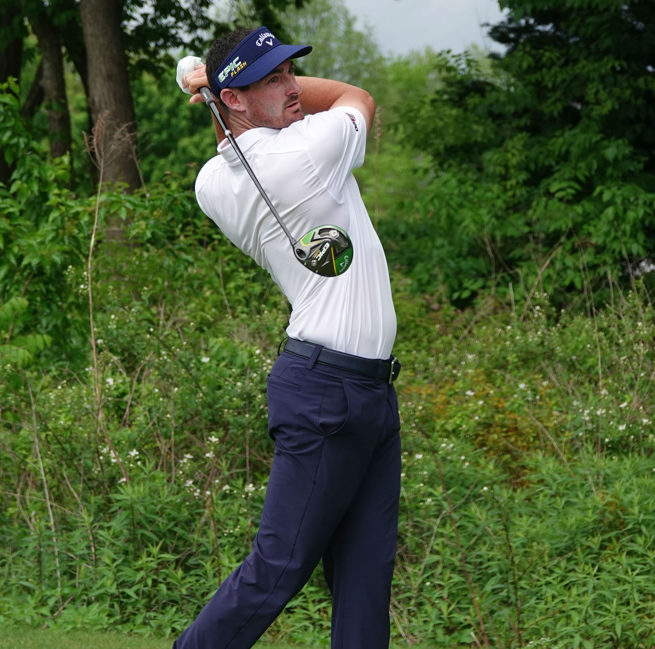 Three tied for lead in Web.com Tour Nashville Golf Open Benefiting the Snedeker Foundation