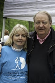 Former Gov. Richard Codey and his wife, Mary Jo Codey, who has been an advocate for women suffering from postpartum depression, shown at the 2009 Taking Strides Against Mental Illness Walk in Ridgewood.