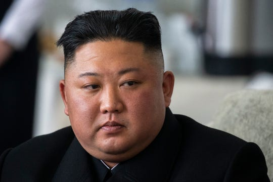 FILE - In this April 24, 2019, is North Korea's leader Kim Jong Un.