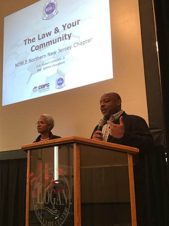 Bergen County Sheriff Anthony Cureton said it is important for law enforcement and civilians to coexist.