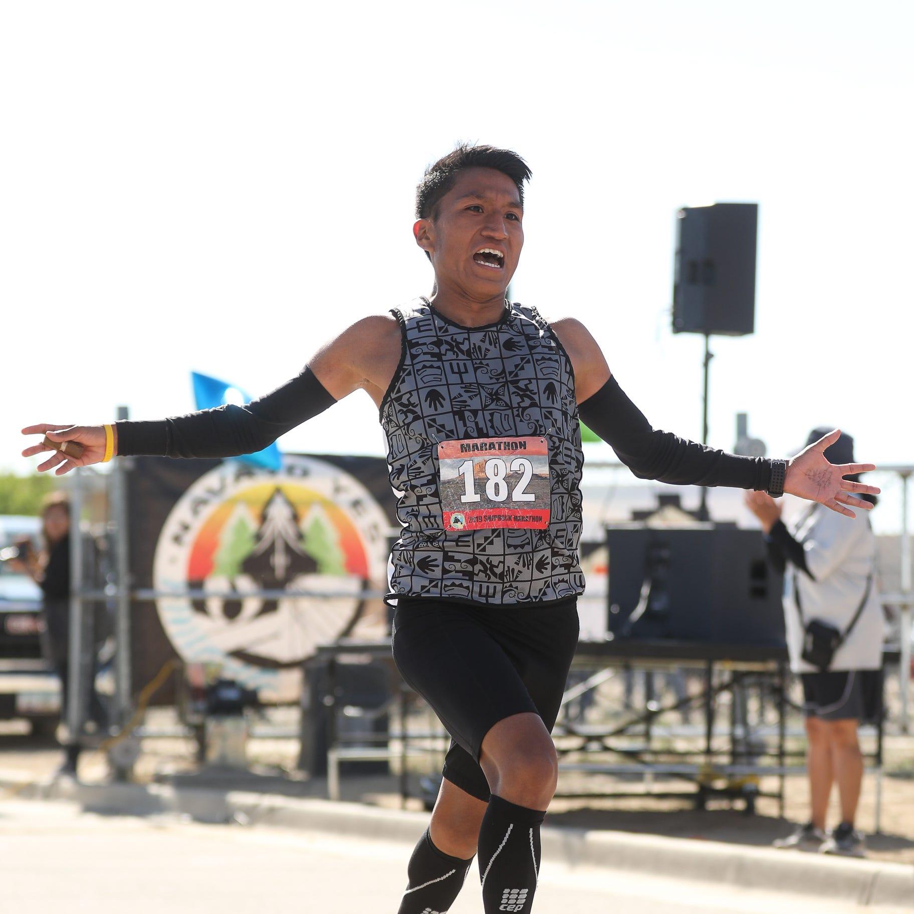 Sumatzkuku, Sekaquaptewa win Shiprock Marathon titles
