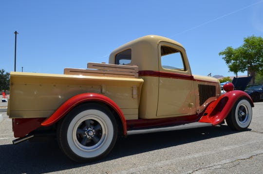Gary and Joanne Worobec's 1935 Dodge Brothers KC was one of the classic cars at the Palm Springs Cruisin' Association car show. Saturday, May 4, 2019.