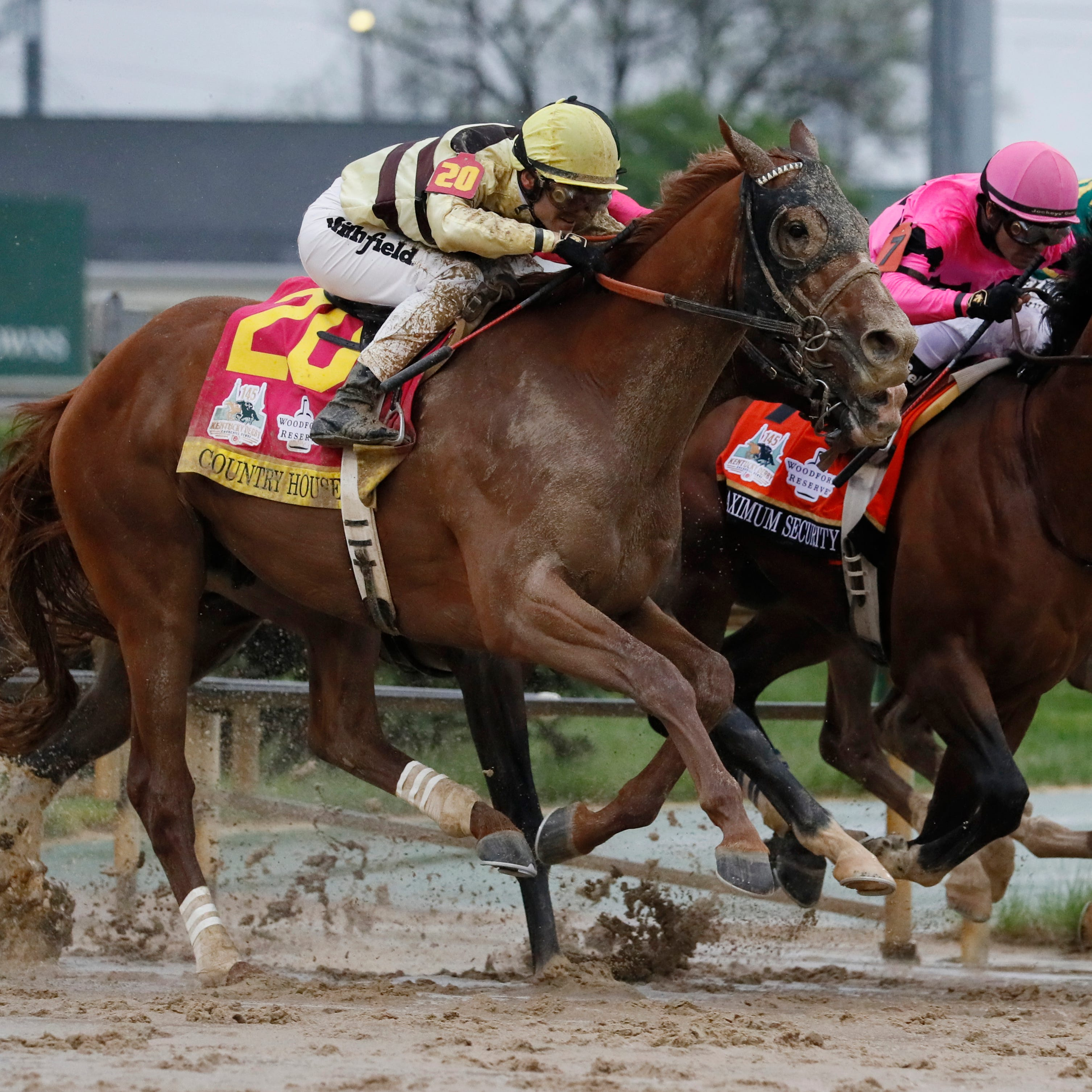 Country House wins the Kentucky Derby; Maximum Security disqualified