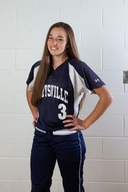 Marysville softball player Mackenzie Fleming is the Times Herald Athlete of the Week.