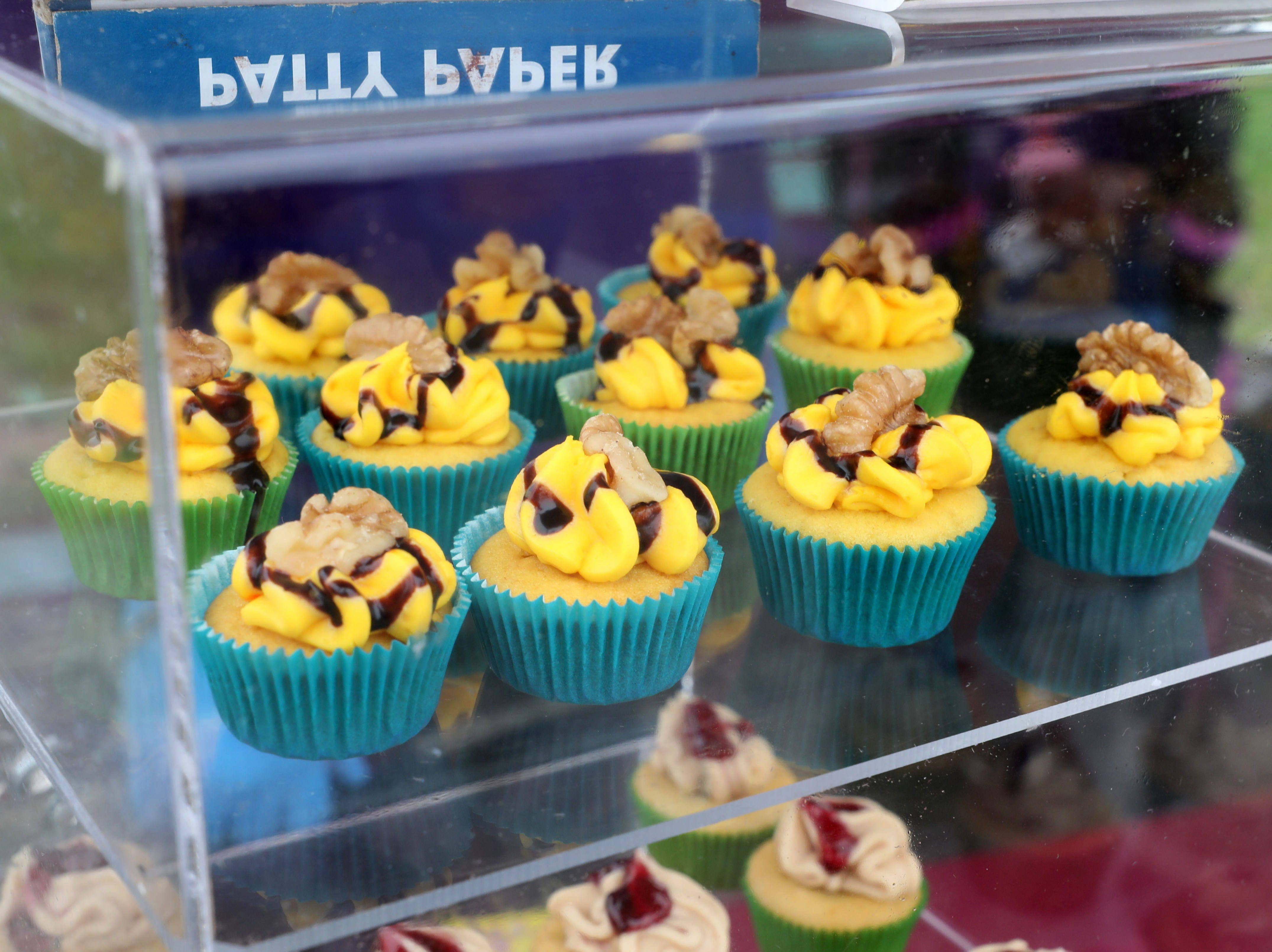 Ms. Vee's Sweet Treats cupcakes are pictured during the K104.7 Cupcake Festival at the Stormville Airport, May 4, 2019.