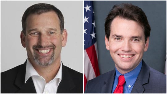North State voters will elect either Brian Dahle (left) or Kevin Kiley to the District 1 state senate seat on June 4, 2019.