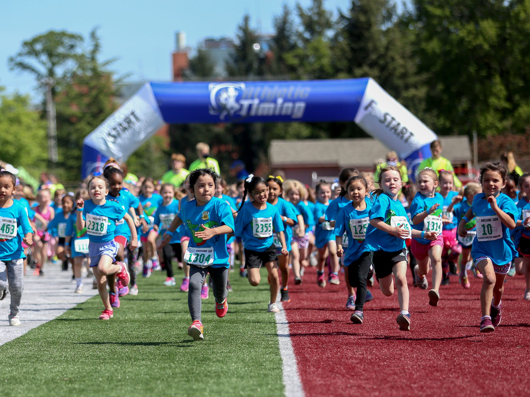 PHOTOS: Salem kids turn out for Awesome 3000