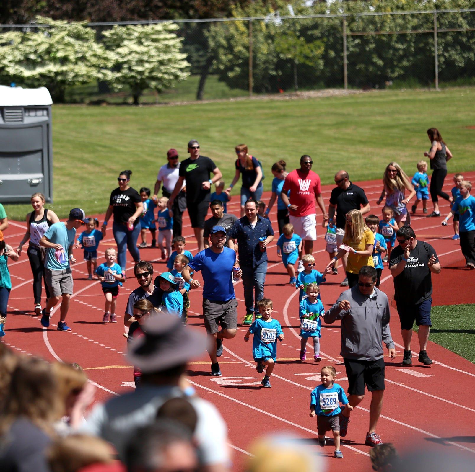 Nearly 3,000 Salem, Keizer kids participate in Awesome 3000 fun run