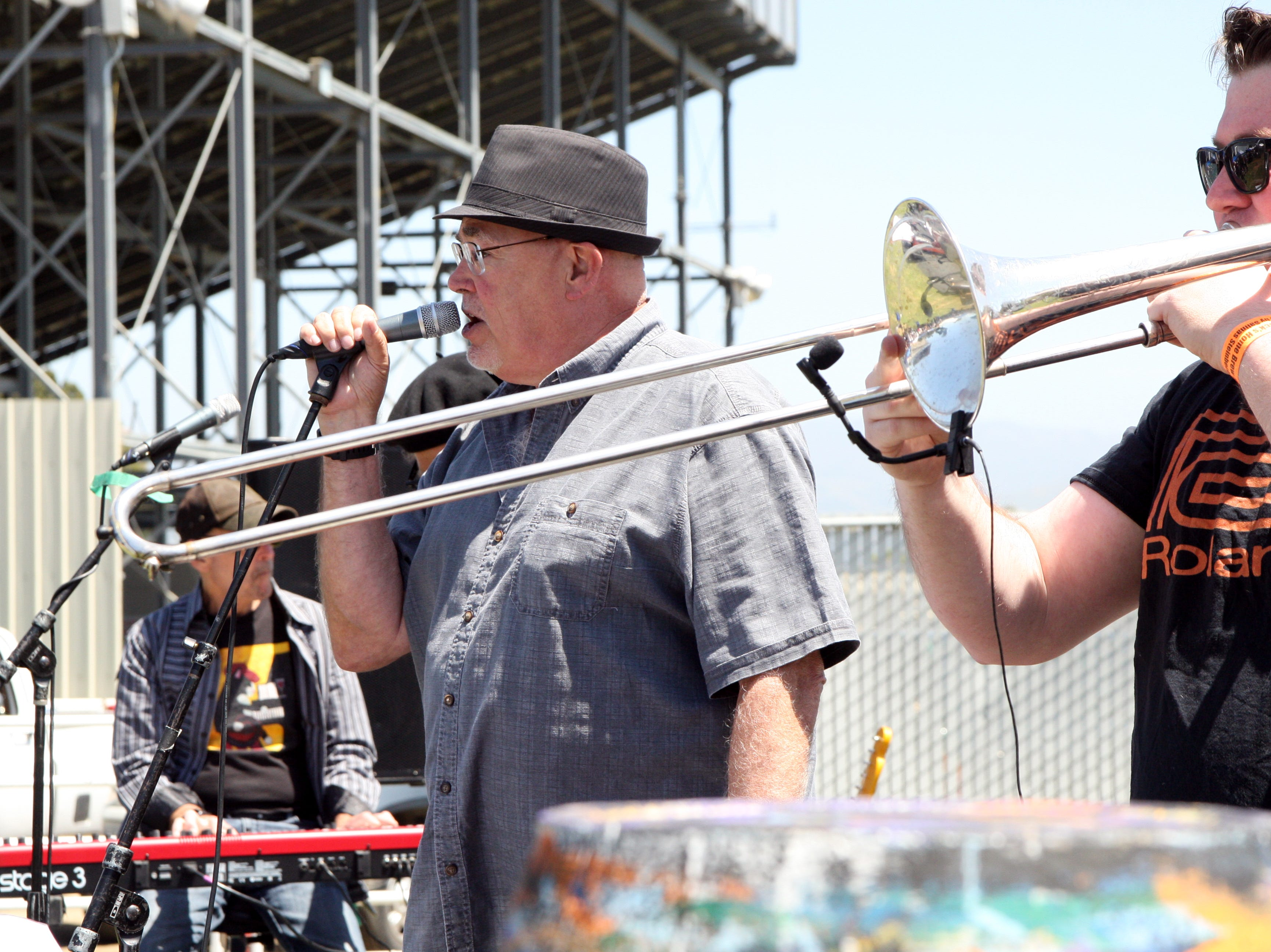 A band entertained the crowd for hours at the Brew Fest. May 4, 2019.