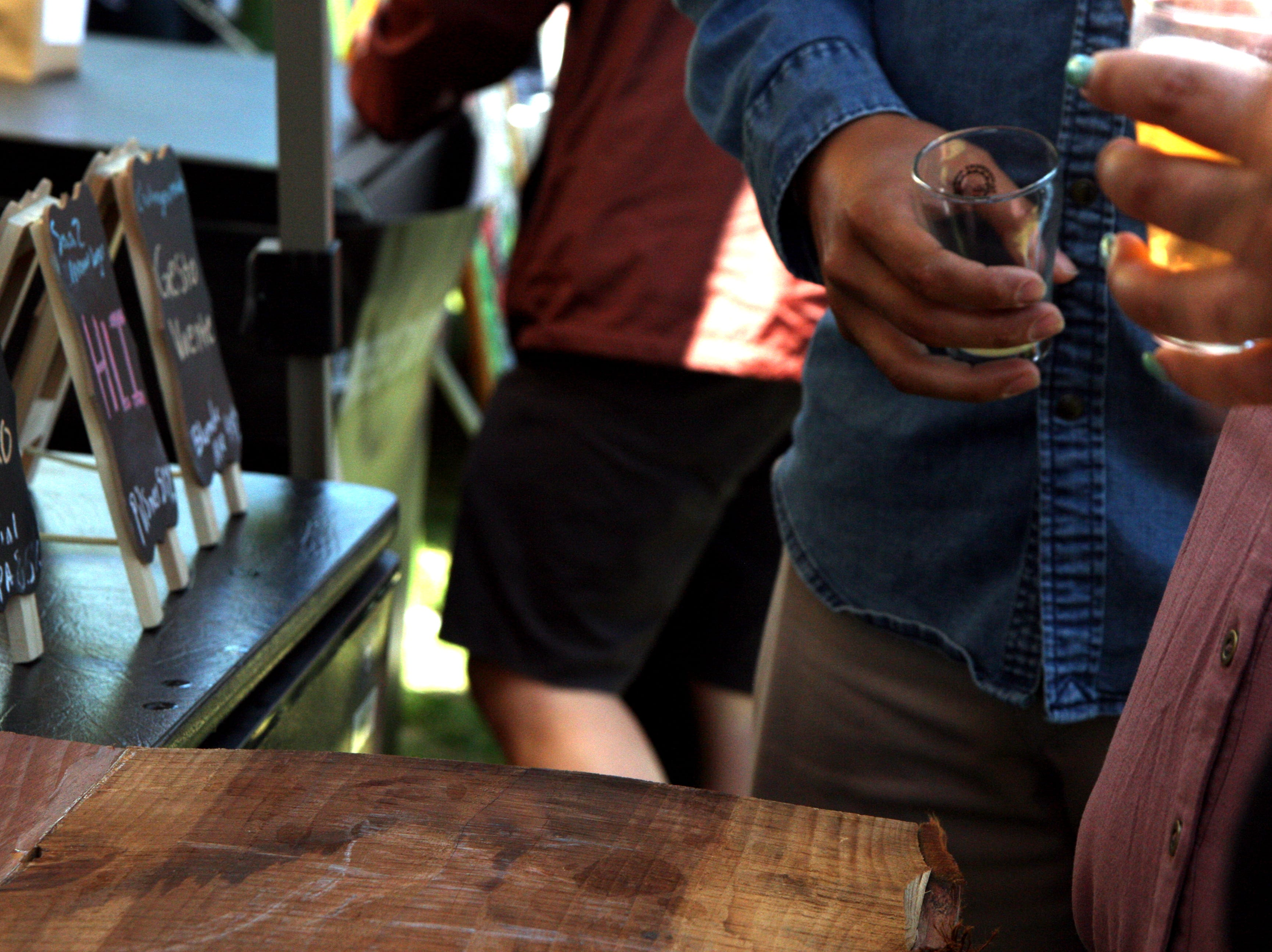 Hundreds of people attended Steinbeck's Home Brew Fest Saturday, paying $40 to $50 apiece to get into the event held at the Rodeo grounds. May 4, 2019.