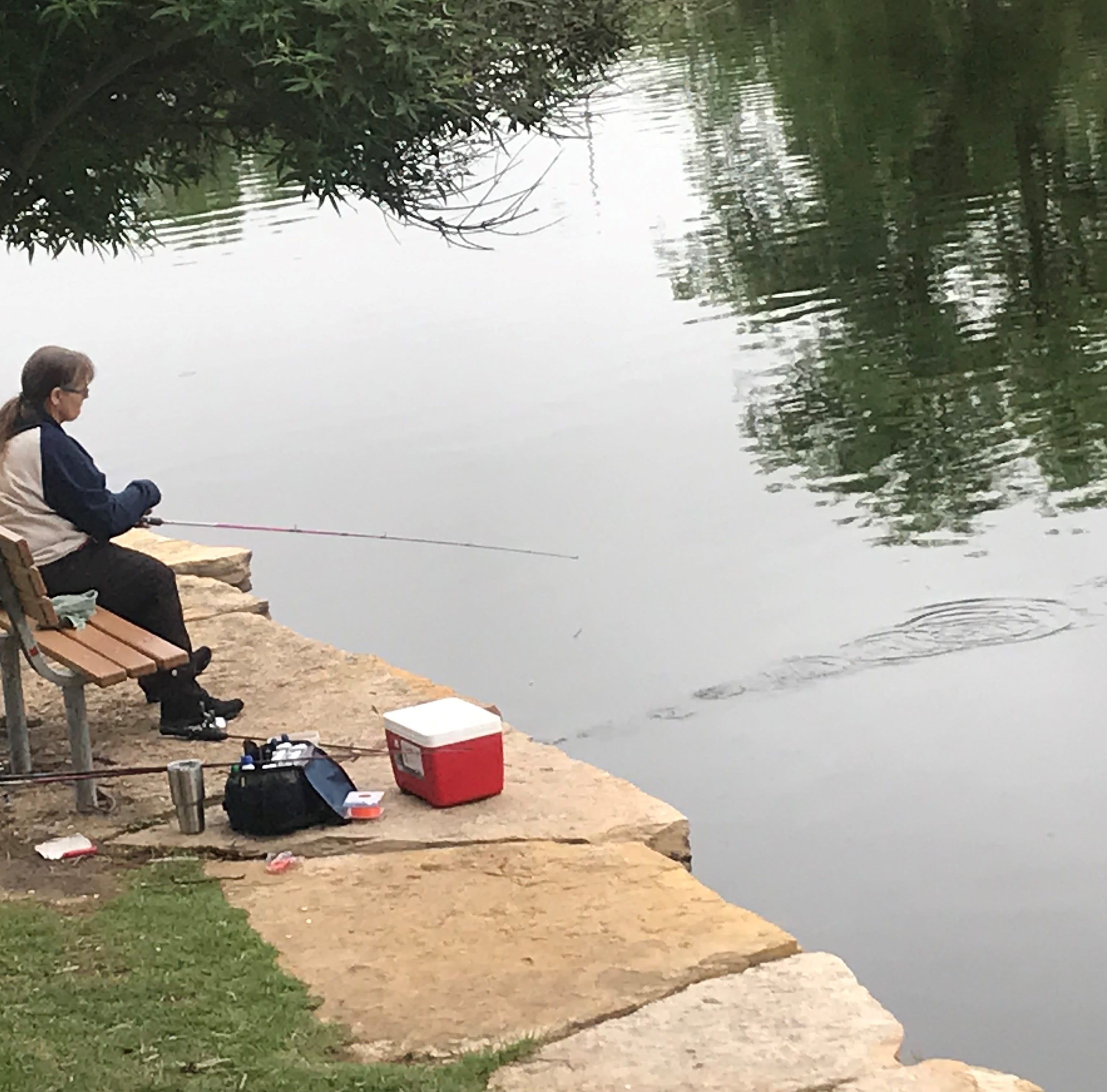 San Angeloans enjoy day of fishing after Concho River stocked with over 600 catfish