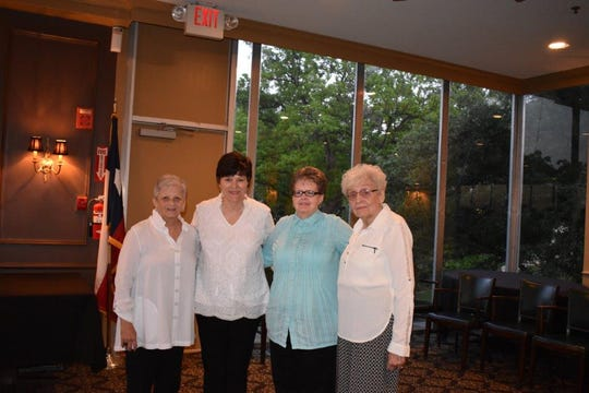 The 2019-2020 Beta Sigma Phi City Council Officer's installed at Founder's Day are: President, Lana Thompson; Vice President, Robyn Gaston;Recording Secretary, Janie Lowe; Corresponding Secretary, Patsy Jackson (not pictured) and Treasurer, Kathleen Harris.