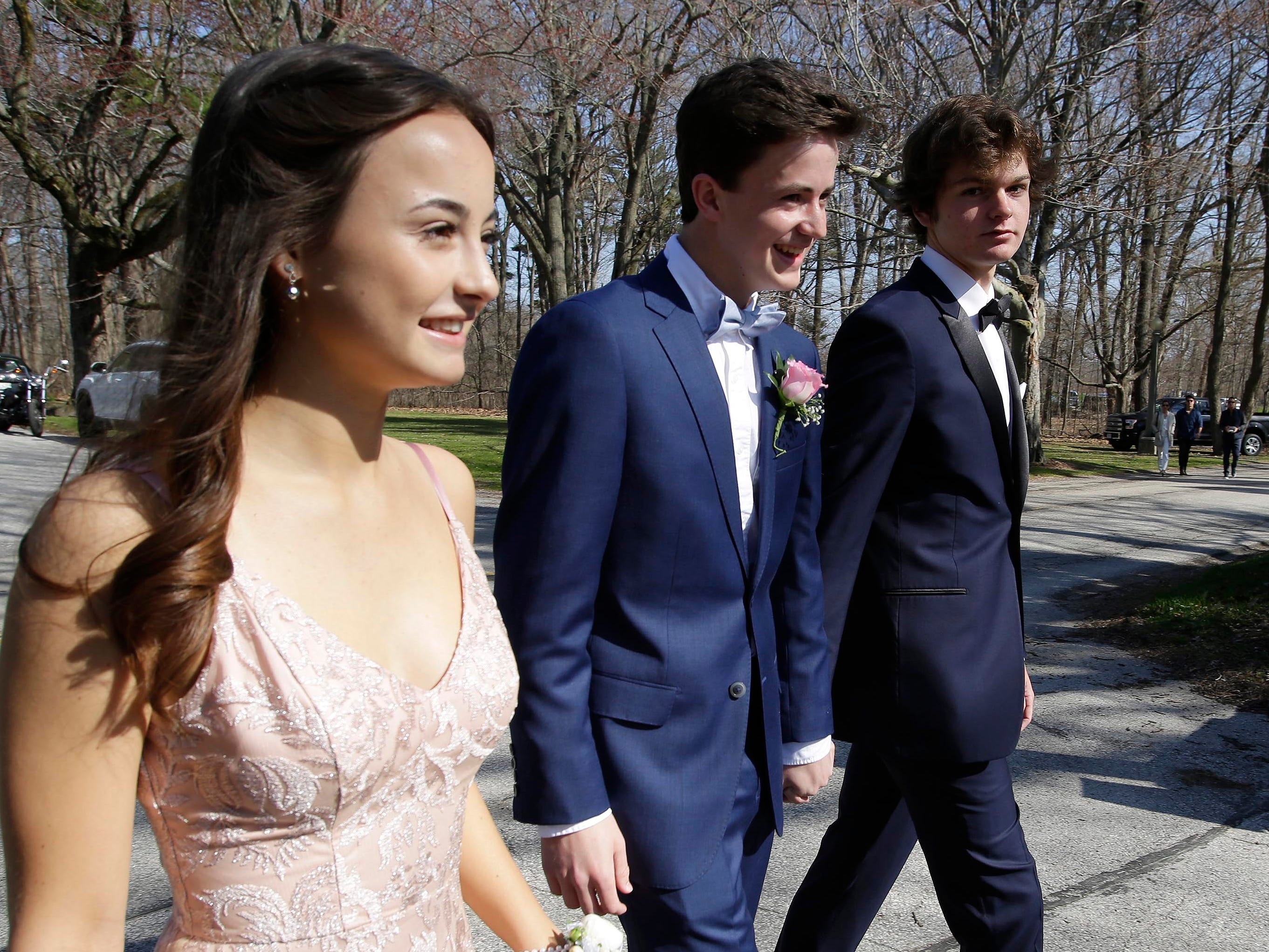 Scenes from the Kohler Prom photo sessions at the Waelderhaus, Saturday, May 4, 2019, in Kohler, Wis.