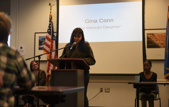 Gina Conn was born in the U.S. and raised in Mexico. She returned to the U.S. last year and is now a freshman at Lincoln HS. She shared her journey to Sioux Falls at Siouxland Libraries Oak View Branch Saturday, May 4.