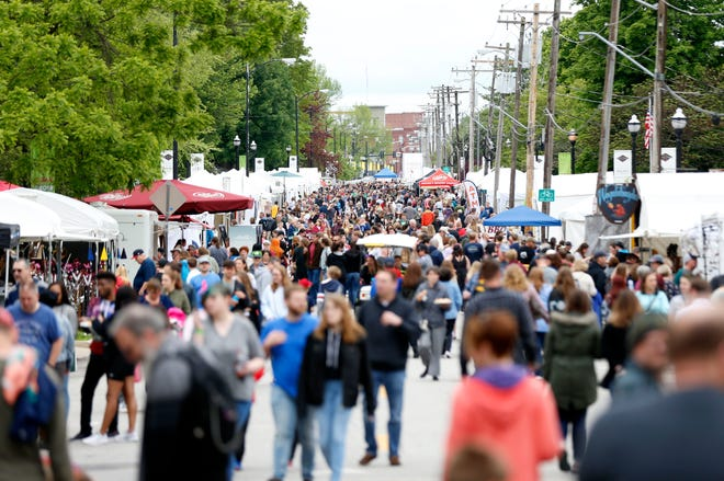 Artsfest on Walnut Street, usually a harbinger of spring, has been postponed until September and will be held in combination with Cider Days.