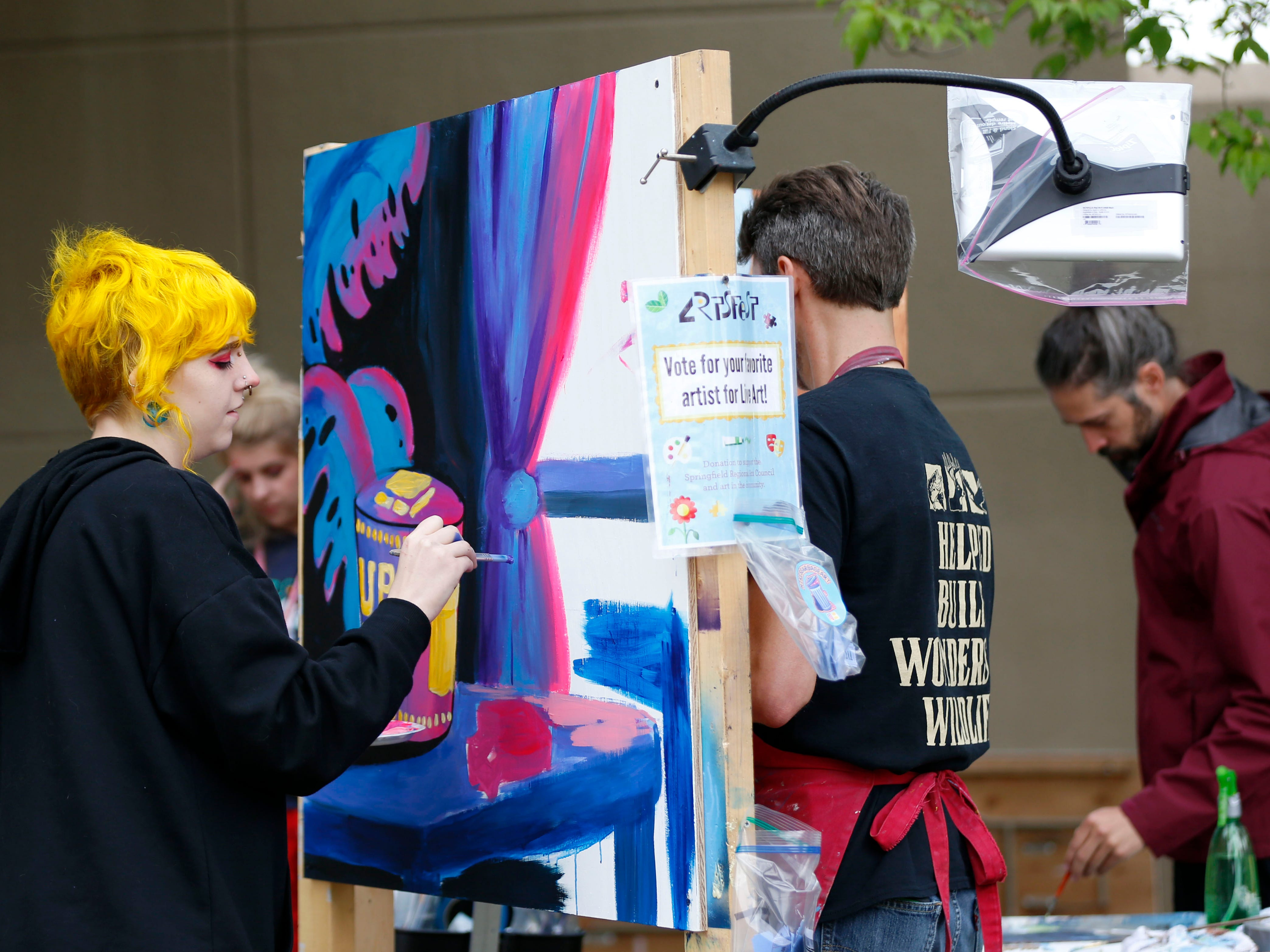 Thousands of people attended Artsfest on Walnut Street on Saturday, May 4, 2019.