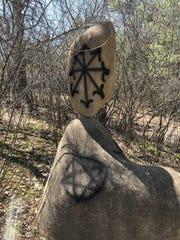 It was discovered Saturday morning that Stevens Point Sculpture Park was vandalized and a number of art installations were defaced.