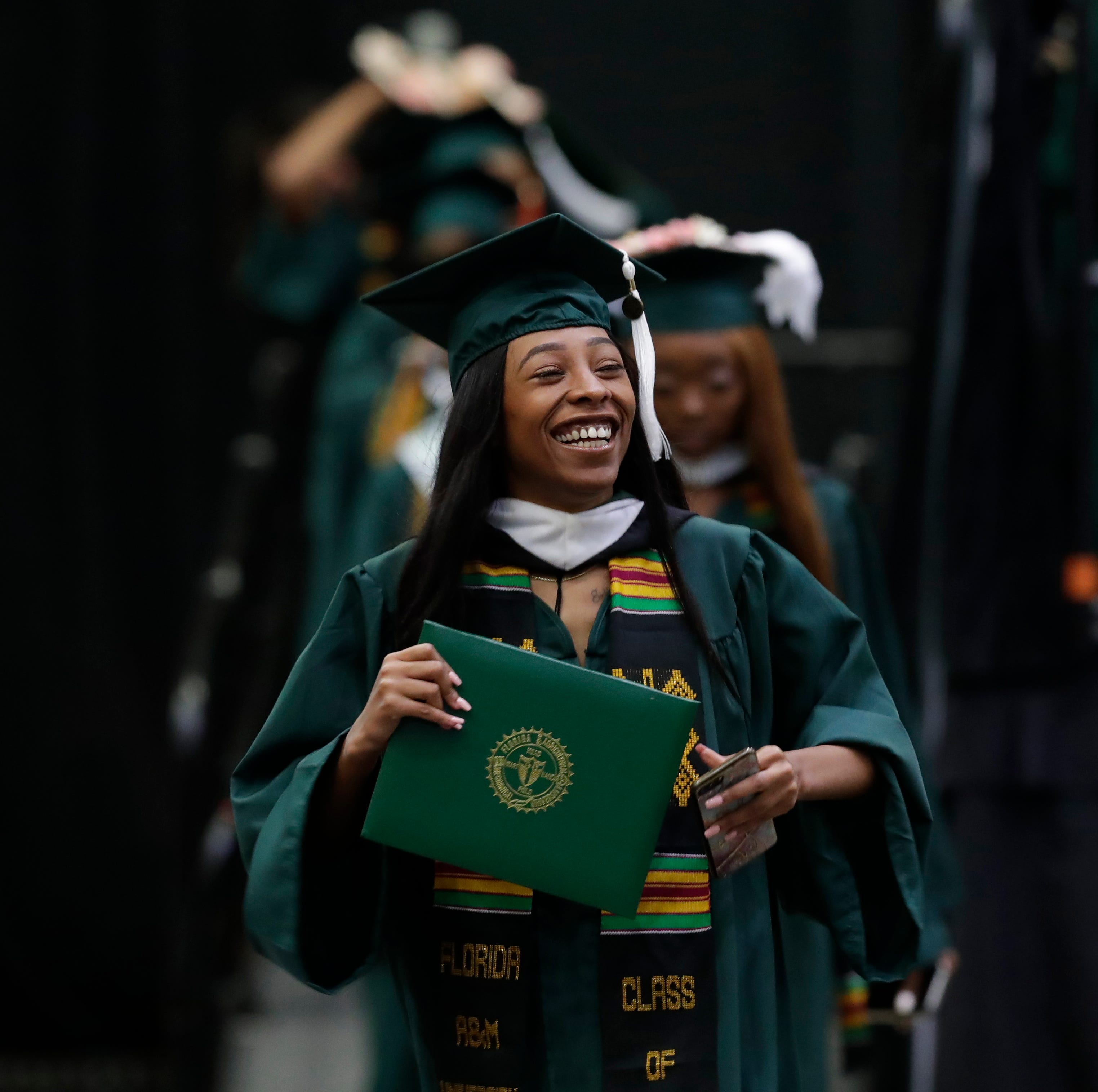The faces of FAMU spring commencement in 59 graduation photos