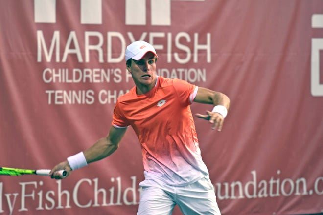 Dmitry Popko, a member of the Kazakhstan Davis Cup team, won the 2019 Mardy Fish Children's Foundation Tennis Championships title at The Boulevard.