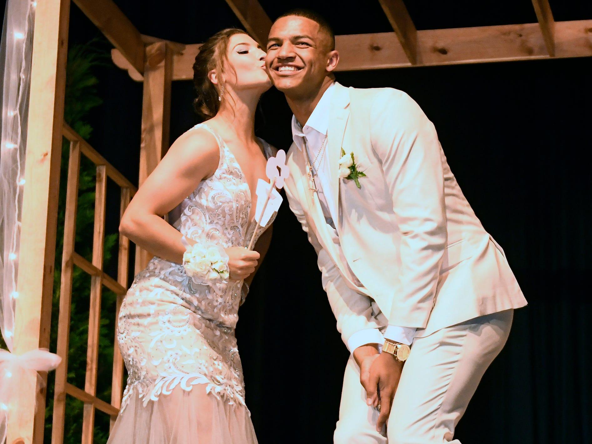 Buena Regional High School held its pre-prom promenade in the school auditorium on Friday, May 3, 2019.