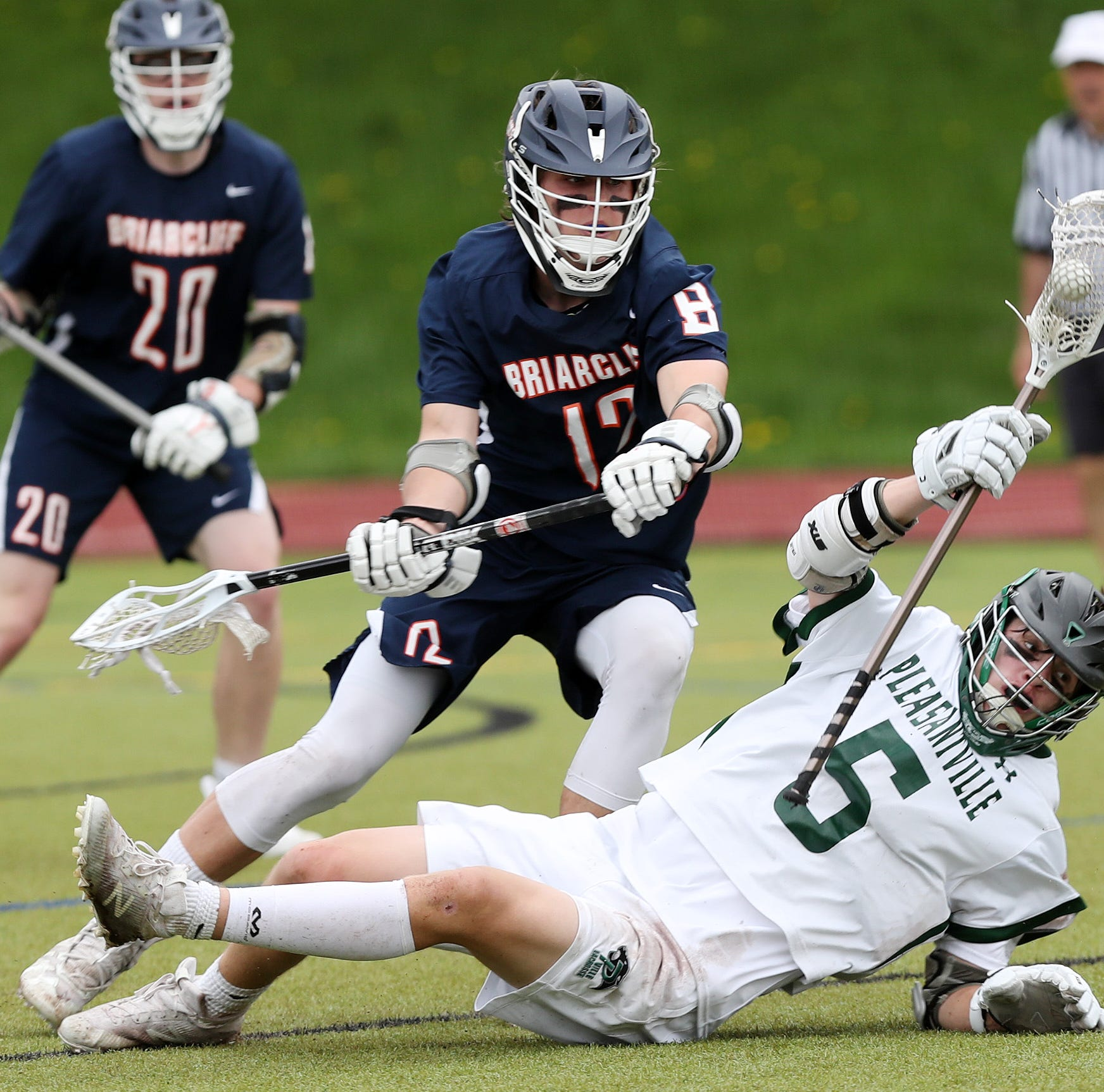 Boys lacrosse: Briarcliff holds on against Pleasantville