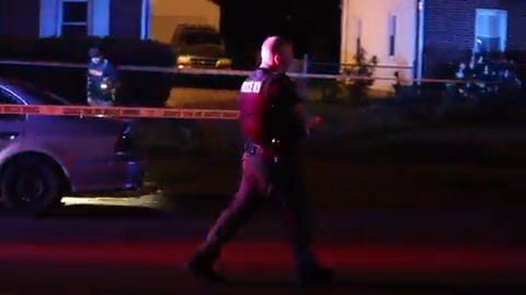 A 17-year-old girl received a minor wound in the leg after the shooting incident in the Manor Park neighborhood.