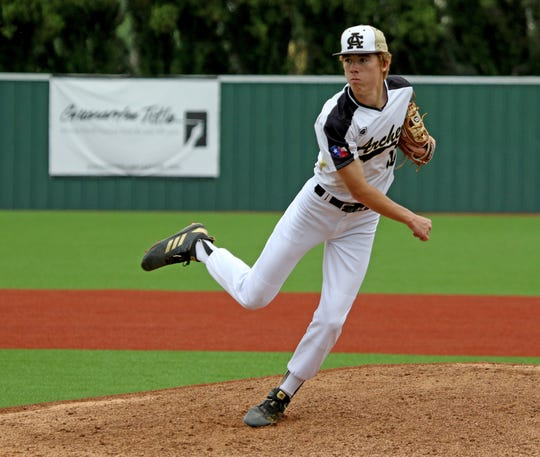 Archer City's Conner Byrd was named the 9-2A Offensive Player of the Year.