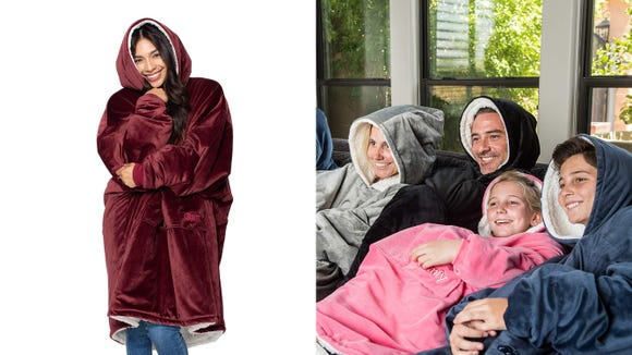 Snuggle up with The Comfy: The Original Blanket Sweatshirt