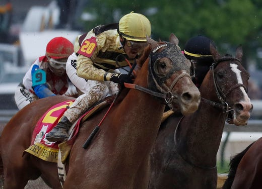 Country House won the 145th running of the Kentucky Derby, though the horse didn't cross the finish line first.
