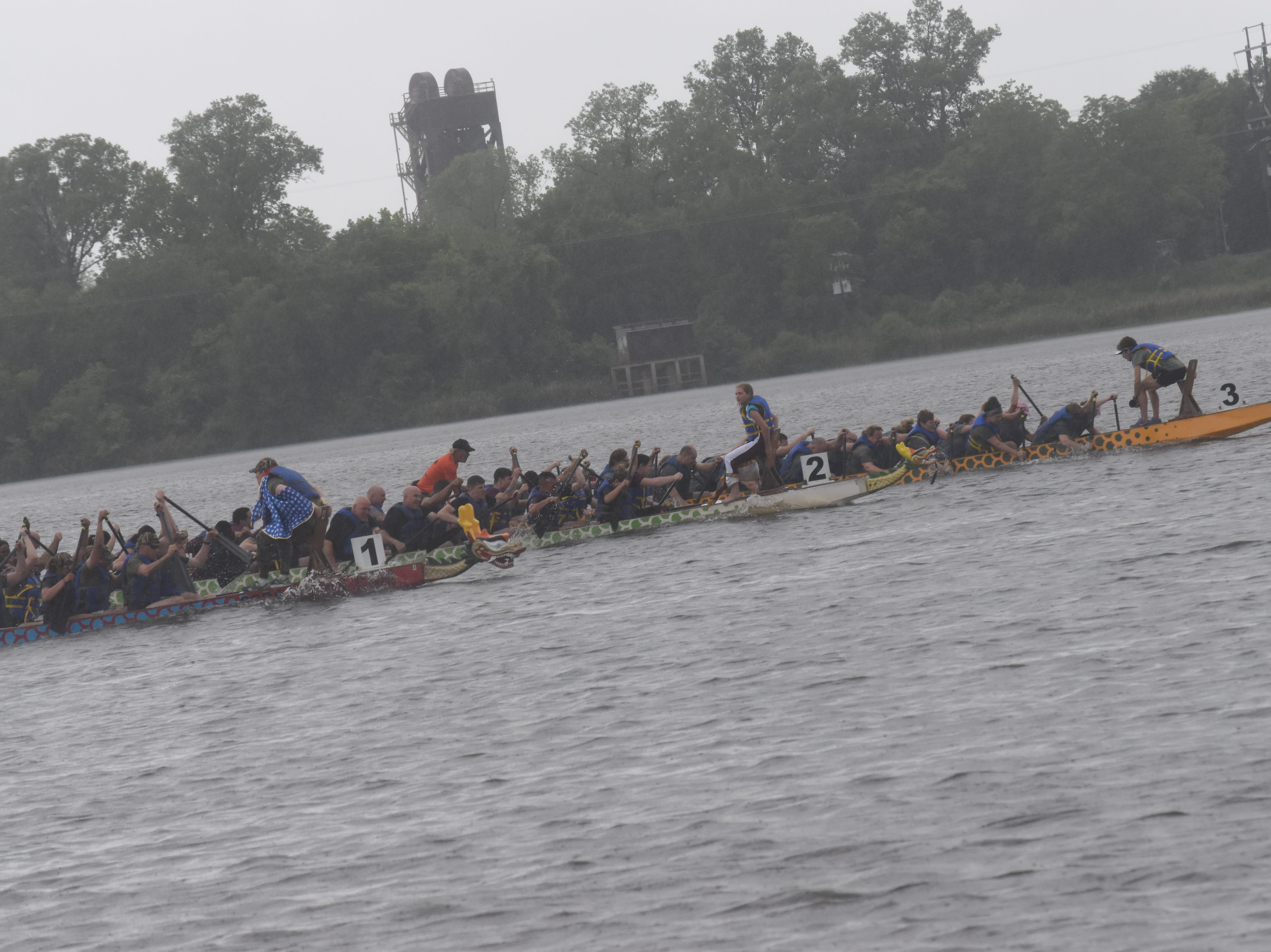 The 2019 Louisiana Dragon Boat Races were held Saturday, May 4, 2019 with nineteen teams competing in the ninth annual event. Roy O. Martin Team 2, the World Class Rowers, are the champions for 2019.