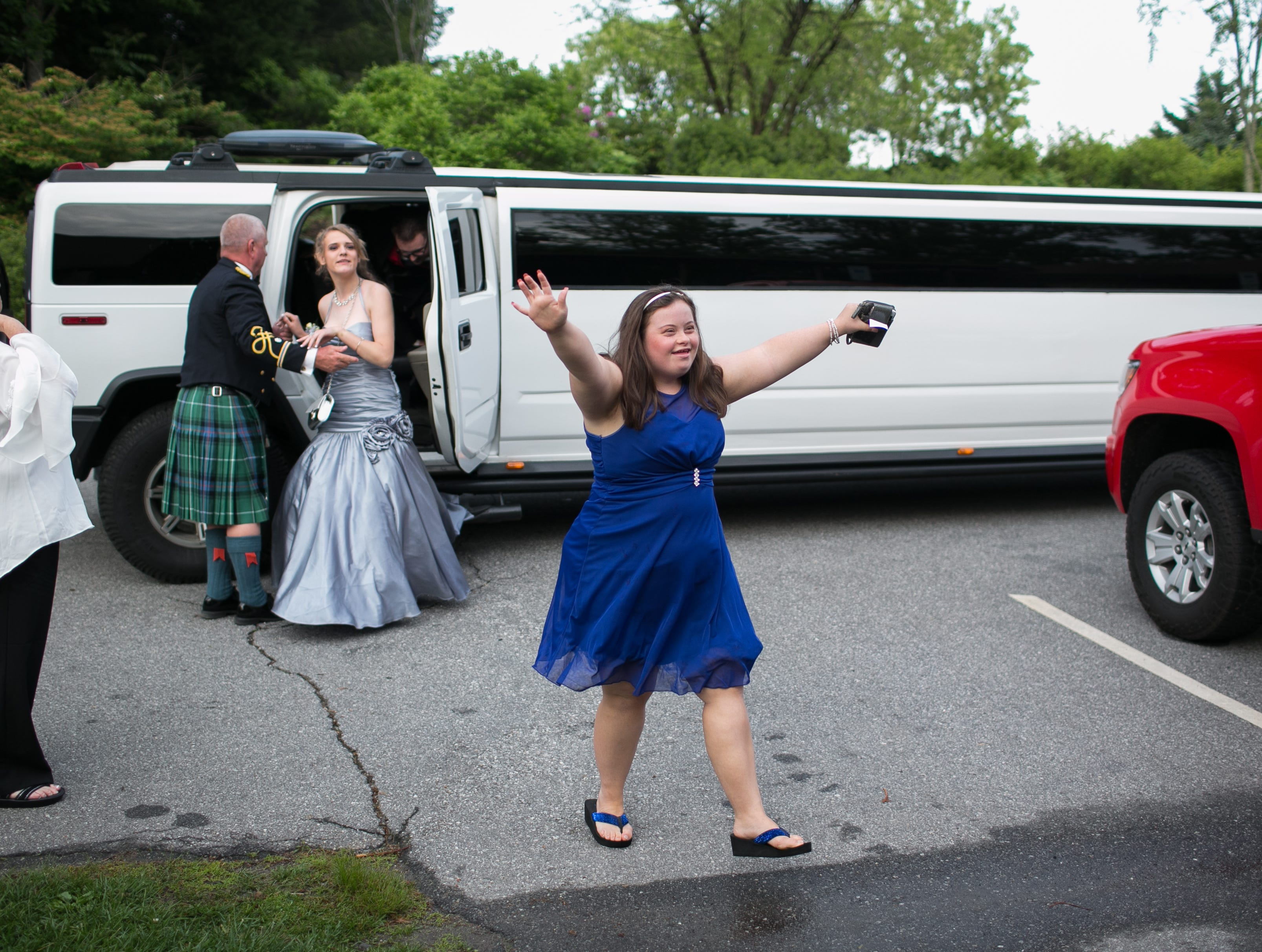 Former Madison student Anne Graves was welcomed to the prom. Madison students raised money for past and current EC students to attend this year's prom.  Madison celebrated their prom on May 4, 2019, at the Crest Center Pavilion.